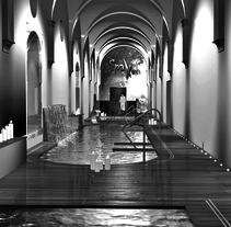 Balneario Monasterio de piedra. Un proyecto de 3D, Arquitectura interior y Diseño de interiores de Aitor Hernández Gómez - 12-03-2014