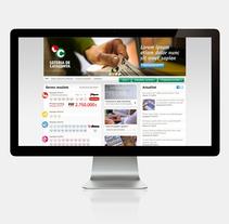 Loteria de Catalunya. A Web Design project by Cristina Fabregas Escurriola         - 17.03.2014