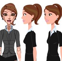 Animación para aplicación desktop de Rimac Seguros. A Animation, Character Design&Illustration project by Alex Ramírez - Apr 07 2014 12:00 AM