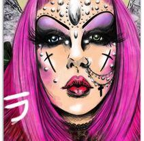 Adora BatBrat. Um projeto de Ilustração de Madame Bizarre - 18-03-2014