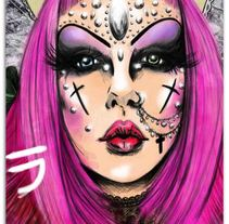 Adora BatBrat. A Illustration project by Madame Bizarre         - 18.03.2014