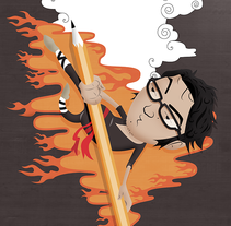 ilustraciones Diarias. A Illustration, and Graphic Design project by Alan Ng         - 22.03.2014