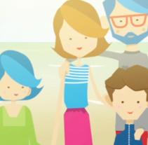 Ningún menor sin Familia // Fundación Acrescere. Un proyecto de Ilustración, Animación, Dirección de arte y Diseño de personajes de Antonia y Pepa         - 23.11.2013