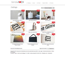 E-Commerce ADCV. A Web Design, and Web Development project by Ángelgráfico  - 24-03-2014