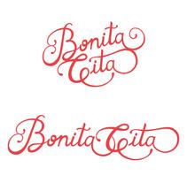 Restyling de Logotipo BONITA CITA. Un proyecto de Br e ing e Identidad de Marta Serrano Sánchez - 25-03-2014