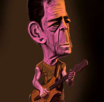 Lou Reed. A Illustration project by luis silva - Oct 28 2013 12:00 AM