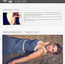 Me muero de bonito. Un proyecto de Br, ing e Identidad, Diseño, Diseño Web, Moda, Multimedia y UI / UX de DaNieL PaRDo - Miércoles, 02 de abril de 2014 00:00:00 +0200