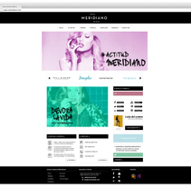 Restyling Imagen corporativa y web de Centro Comercial Meridiano (Tenerife). A Br, ing, Identit, Graphic Design, and Web Design project by Nuria Mestre García         - 10.04.2014