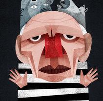Gente. Um projeto de Ilustração, Design editorial e Design gráfico de Nicolás  Aznárez         - 22.04.2014