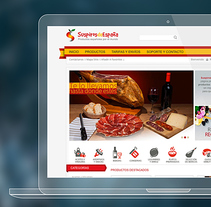Web Internacional de productos españoles a domicilio . A UI / UX, Art Direction, Web Design, and Web Development project by Juan Carlos Hernández - May 05 2014 12:00 AM