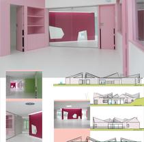 XXII PAAS [E.I. (Escuela Infantil) Nuevo Roces]. Un proyecto de Diseño, Instalaciones, Arquitectura, Arquitectura interior y Diseño de interiores de Jesús Sotelo Fernández - 24-04-2014