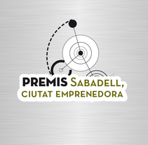 "Identidad Corporativa. ""Premis Sabadell Ciutat Emprenedora"". A Art Direction, Br, ing, Identit, and Graphic Design project by Novoselic Studio  - 04-05-2014"
