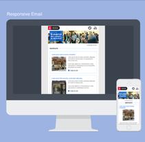E-mail Design. A Web Design project by Laura Belore         - 13.05.2014