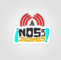 NosLaJugamos -Propuesta- Logotipo Canal de Radio NosLaJugamos!. A Illustration, and Graphic Design project by Eloy Pardo Rouco         - 14.05.2014