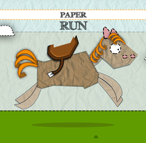 PAPER RUN. A Game Design project by Ismael Alabado Rodriguez - May 15 2014 12:00 AM