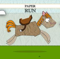 PAPER RUN. Un proyecto de Diseño de juegos de Ismael Alabado Rodriguez - Jueves, 15 de mayo de 2014 00:00:00 +0200