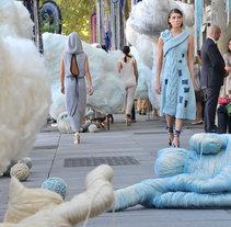 La Avenida de la Lana - Campaign for Wool 2011. Un proyecto de 3D, Bellas Artes y Diseño de producto de Jose Fernando López Viciana         - 05.10.2011
