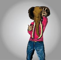 La victoria del recuerdo. Um projeto de Design, Ilustração, Direção de arte, Design de personagens, Design gráfico e Serigrafia de Israel Martinez         - 23.05.2014