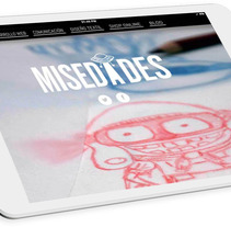 Misedades: branding y desarrollo web responsive. A Illustration, Art Direction, Br, ing, Identit, Web Design, and Web Development project by Sr. Brightside         - 26.05.2014