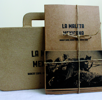 "Libro del documental ""La maleta mexicana"". A Graphic Design project by MONTSE TORRES SÁNCHEZ - 27-05-2014"