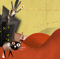 BORIS VIAN. A Motion Graphics, Animation, Graphic Design, and Post-Production project by Marjorie  - 10-01-2014