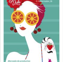 Mercado de La Buena Vida. Un proyecto de Ilustración de Mariela Bontempi de Miguel - 29-05-2014