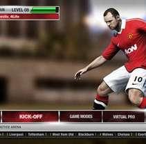 EA Sports FIFA 12. Un proyecto de UI / UX de Cristhian Serur - Viernes, 30 de mayo de 2014 00:00:00 +0200
