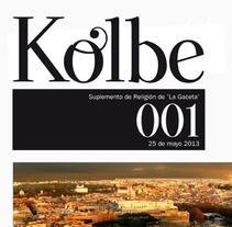 SUPLEMENTO KOLBE. A Design, Art Direction, and Editorial Design project by Marina Delgado Lobato         - 31.05.2014
