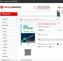 Stanley Publishing - Tienda. A Web Design, and Web Development project by Jaime Martínez Martín         - 31.05.2014