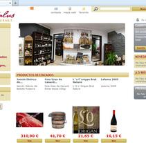 Al Andalus Gourmet. A Web Development project by Gema R. Yanguas Almazán         - 13.09.2011