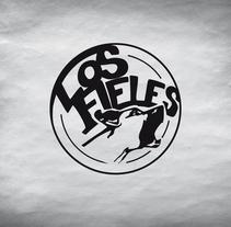 Los Fieles. Diseño de la imagen corporativa de la banda de Hardrock. A Art Direction, Br, ing, Identit, and Graphic Design project by Novoselic Studio          - 03.06.2014