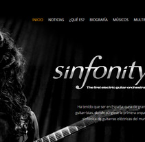 Sinfonity. A Web Development project by Jaime Sanchez - 05-06-2014
