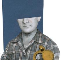 La Vida y otras Geografías. Benedetti. A Illustration project by anne         - 09.04.2014