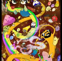 HoradeAventuricaturizacionismo es pi a li do so.. A Illustration, Animation, and Character Design project by Artista Freelance animador 2D-3D, Ilustrador, Digital Painter...         - 22.05.2014