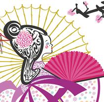 Tipograma Gueisha. Un proyecto de Diseño y Tipografía de Antía Méndez Conde-Pumpido         - 08.06.2014