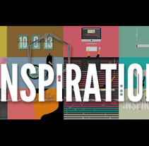 INSPIRATION. A Illustration, Motion Graphics, and Animation project by Rafa Galeano         - 10.06.2013