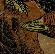 MALAÏSE + DEAD RAMONES + ULTRATOMBA | poster. Un proyecto de Diseño, Ilustración, Publicidad y Diseño gráfico de alejandro escrich - 16-02-2014