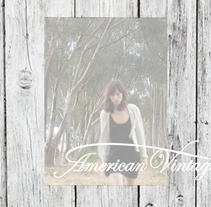 American Vintage. A Design project by Alexandra          - 25.06.2014