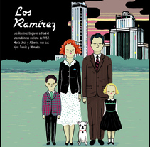 Los Ramírez. A Illustration project by Ana Galvañ - 06-07-2014