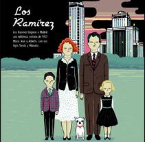 Los Ramírez. A Illustration project by Ana Galvañ - Jul 07 2014 12:00 AM