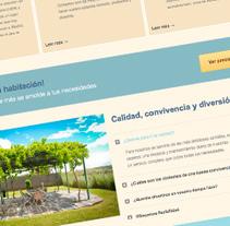 residenciaeuropa.net. Um projeto de Web design e Desenvolvimento Web de Nacho Salvador         - 06.07.2014