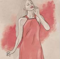 Chic Illustration. A Design&Illustration project by Cristina Mufer         - 07.07.2014