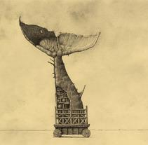 """""""Leyendario Criaturas de Agua"""" Un álbum ilustrado. A Illustration project by Óscar  Sanmartín Vargas - 07-07-2014"""