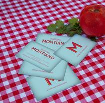 Trattoria Montiano. Un proyecto de Br, ing e Identidad y Tipografía de Salvartes  Diseño de Identidad y Packaging  - 24-05-2012