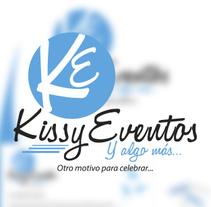 "Imagen Corporativa para ""Kissy Eventos"" . A Design, Illustration, Br, ing, Identit, and Graphic Design project by Jonathan Tiburcio Garcia         - 13.07.2014"