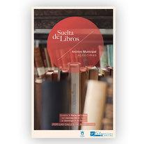 Poster 'Suelta de libros'. A Design, and Graphic Design project by Maria Navarro         - 13.07.2014
