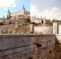 Matte Painting - Toledo. A Illustration, Film, Video, and TV project by Eduardo Samajón Mencía - 05-01-2014