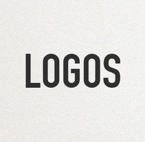 LOGOS. A Br, ing, Identit, and Graphic Design project by Roger Cortés         - 17.07.2014