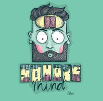Square mind. Um projeto de Ilustração de Oriana Chalbaud         - 21.07.2014