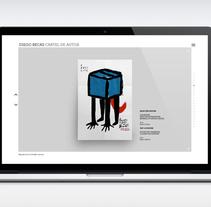 Cartel de Autor. Un proyecto de Diseño gráfico, Diseño Web y Desarrollo Web de Julio Valdés Boccardo - 21-07-2014